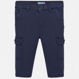 Spodnie z kieszeniami chłopięce Mayoral 2540-91 Granatowy