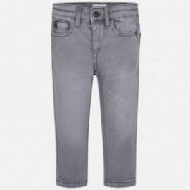 Spodnie slim fit chłopięce Mayoral 4511-27 Szary