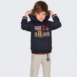 Spodnie chinos dla chłopca Mayoral 4516-86 Szary