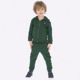 Spodnie dzianinowe dla chłopca Mayoral 4525-40 Zielony