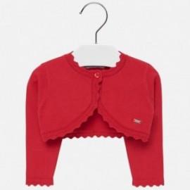 Sweterek bolerko dla dziewczynki Mayoral 308-12 Czerwony