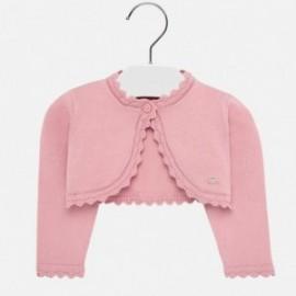 Sweterek bolerko dla dziewczynki Mayoral 308-13 Różowy