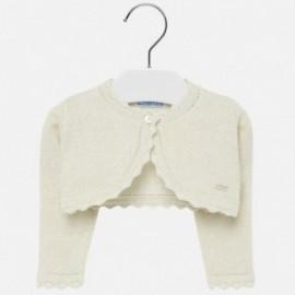 Sweterek bolerko dla dziewczynki Mayoral 308-11 Beżowy