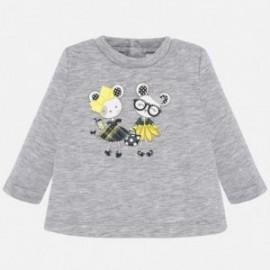 Bluza dzianinowa dla dziewczynki Mayoral 2420-64 Srebrny