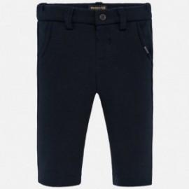 Spodnie eleganckie dla chłopca Mayoral 2533-71 Granatowy