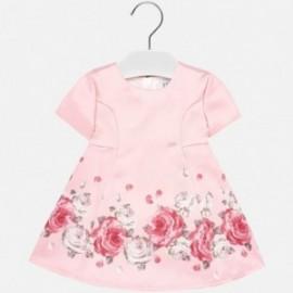 Sukienka z nadrukiem dziewczęca Mayoral 2918-61 Różowy