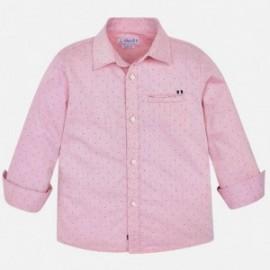 Koszula w kropki chłopięca Mayoral 4125-41 Różowy