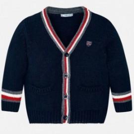 Sweter rozpinany chłopięcy Mayoral 4324-89 Granatowy