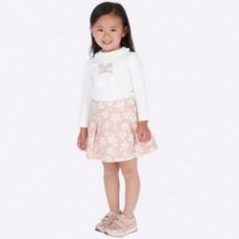 Komplet bluzka i spódnica dziewczęcy Mayoral 4947-15 Różowy