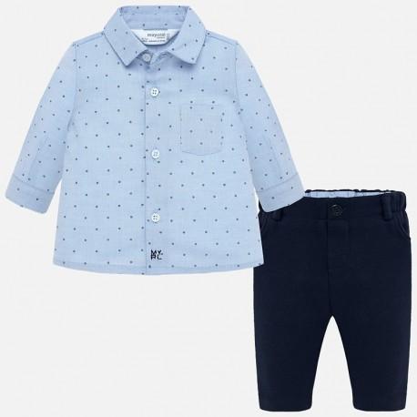 Komplet koszula i spodnie chłopięcy Mayoral 2522-6 Granatowy