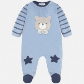 Piżamka welurowa dla chłopczyka Mayoral 2727-11 Niebieski
