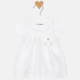 Sukienka elegancka dla dziewczynki Mayoral 2815-49 Kremowy