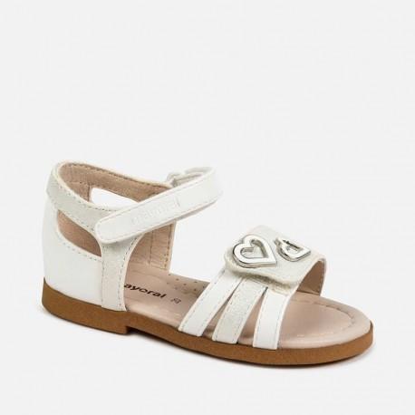 Sandały dla dziewczynki Mayoral 41154-56 Biały