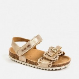 Sandałki dla dziewczynki Mayoral 41164-20 Złoty
