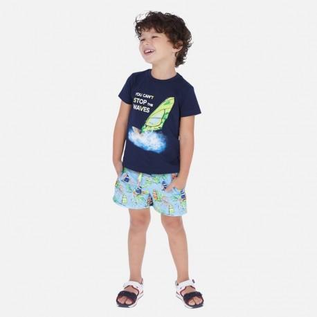 Strój kąpielowy dla chłopca Mayoral 3629-10 niebieski