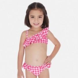 Bikini z falbanką dla dziewczynek Mayoral 3728-68 fuksja