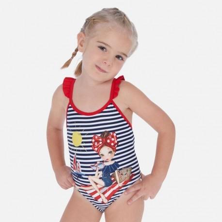 Strój kąpielowy dziewczynka Mayoral 3729-71 Granatowy