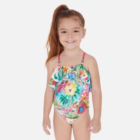 Strój kąpielowy dziewczynka Mayoral 3730-20 czerwony