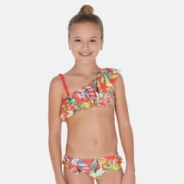 Bikini asymetryczne dla dziewczyn Mayoral 6722-19 Pomarańcz