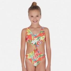 Strój kąpielowy dla dziewczyn Mayoral 6726-19 pomarańcz