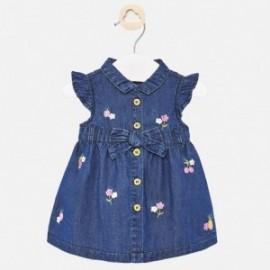 Sukienka jeansowa dla dziewczynki Mayoral 1888-24 Granatowy