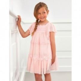 Sukienka tiulowa dziewczęca Abel & Lula 5003-26 Różowy