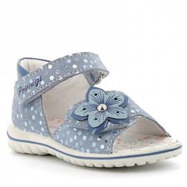 Sandały dziewczęce Primigi 5365222 niebieski