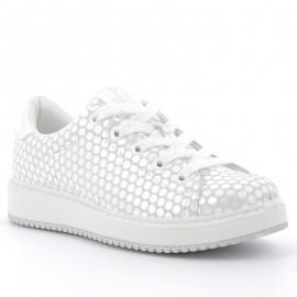 Buty sneakersy dziewczęce Primigi 5375333 srebrny