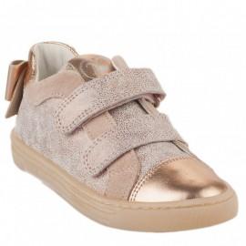 Buty sneakersy dla dziewczynek Primigi 5427722 złoty