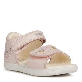 Sandałki dziewczęce Geox B021YA-00044-C8172 Różowy