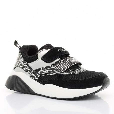 Sneakersy dziewczęce Geox J029TC-01122-C9999 Czarny
