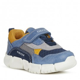 Sneakersy dla chłopaka Geox B022TA-0CL14-C4MF4 granat