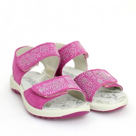 Sandały dziewczęce IMAC 5309400-7067-6 fuksja