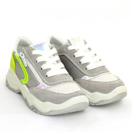 Sneakersy dziewczęce IMAC 5306000-7022-10 srebrne