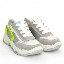 Sneakersy dla dziewczynki IMAC 5306000-7022-10 srebrne
