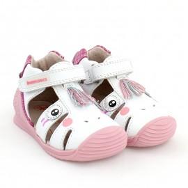 Sandały dziewczęce Biomecanics 202132 białe