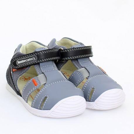Sandały chłopięce Biomecanics 202136 szare