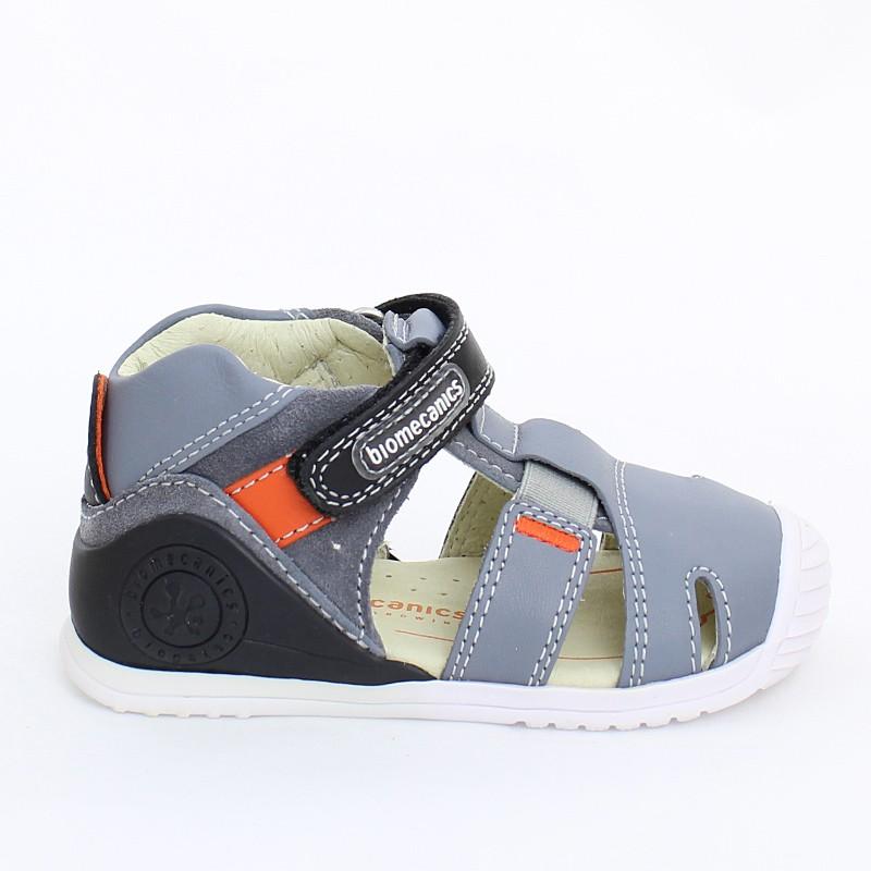Biomecanics 202136 Buty dla dzieci sandały szare