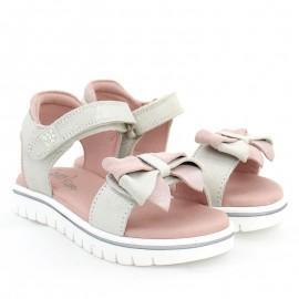 Sandały dla dziewczynek Garvalin 202653 srebrne