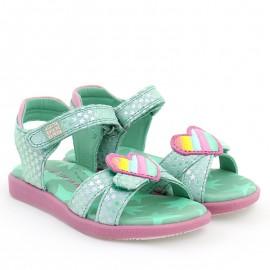 Sandały dziewczęce Agata Ruiz De La Prada 202952 zielone