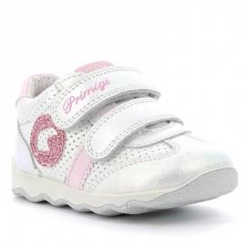 Sneakersy dziewczęce Primigi 5352900 srebrny