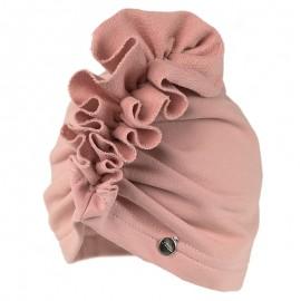 DORUDA turban Czapka dla dziewczynki Jamiks JWC138 kolor brudny róż