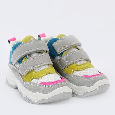 Sneakersy dziewczęce IMAC 5306300-7022-20 szare