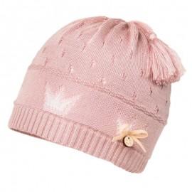 LOIDA czapka przejściowa dla dziewczynki Jamiks JWC167 kolor brudny róż