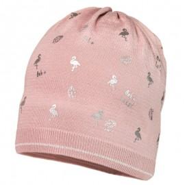 LOLA czapka przejściowa dziewczęca Jamiks JWC034 kolor brudny róż