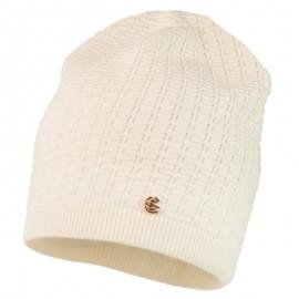 ROBERTA czapka przejściowa dziewczęca Jamiks JWC170 kolor ekri
