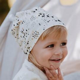 WILANA czapka przejściowa dziewczęca Jamiks JWC201 kolor ekri