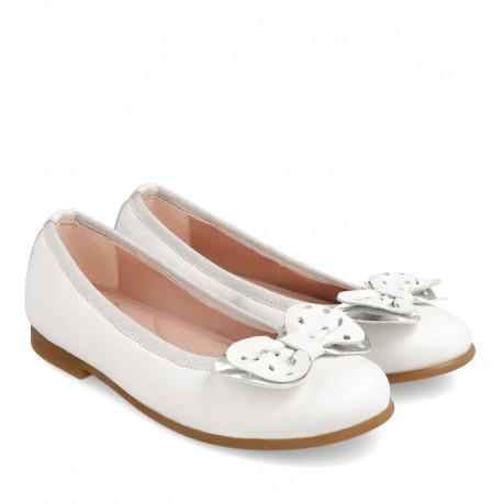 Balrinki dziewczęce Garvalin 202600 białe