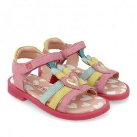 Sandały dziewczęce Agata Ruiz De La Prada 202955 różowe