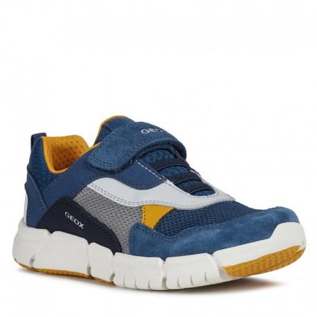 Sneakersy chłopięce Geox J029BD-01422-C4B2G granat